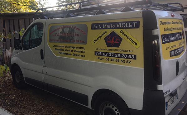 Mario Violet | ramoneur professionnel dans le 28